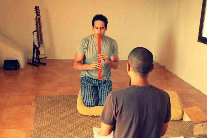 Lezione con Rodrigo Rodriguez
